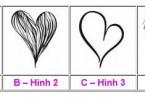 Hình vẽ trái tim tiết lộ quan niệm về tình yêu của bạn