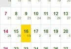 Xem Lịch Vạn Sự Tháng 6/2015 kỳ 2