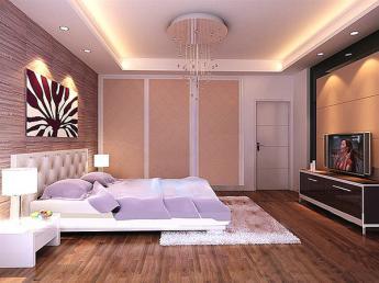 Không nên đặt giường ngủ giữa phòng