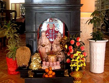 Phong thủy bàn thờ ông Táo