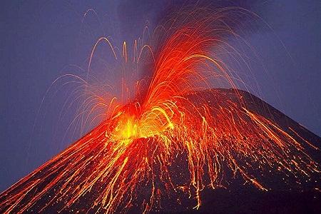 Giải mã giấc mơ thấy núi lửa phun trào