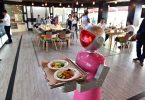 Robot bồi bàn xuất hiện ở Trung Quốc
