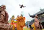 Văn khấn phóng sinh và lễ vật cần chuẩn bị theo đạo Phật