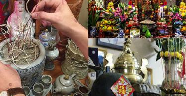 Cách bày bát hương trên bàn thờ chuẩn nhất, tránh phạm thần linh