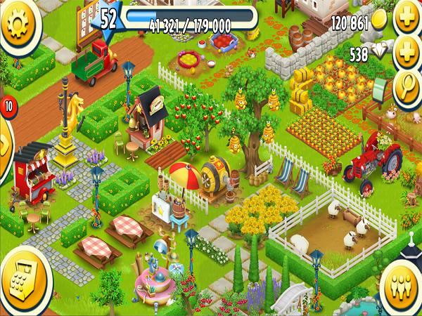Game nông trại HayDay